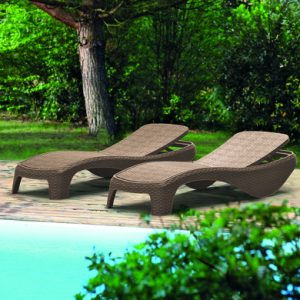 Шезлонг Keter Atlantic Sun Lounger