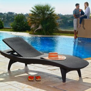 Шезлонг Keter Pacific Sun Lounger