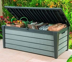 Садовый чулан Keter BRUSHWOOD STORAGE BOX 455 L