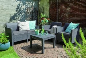 Мебельная гарнитура Curver Chicago set with small table