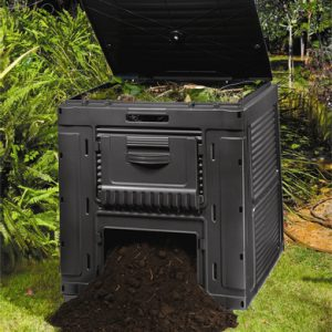 Компостер Curver E-COMPOSTER WITH BASE 470 L